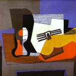 Still Life with Guitar, Picasso